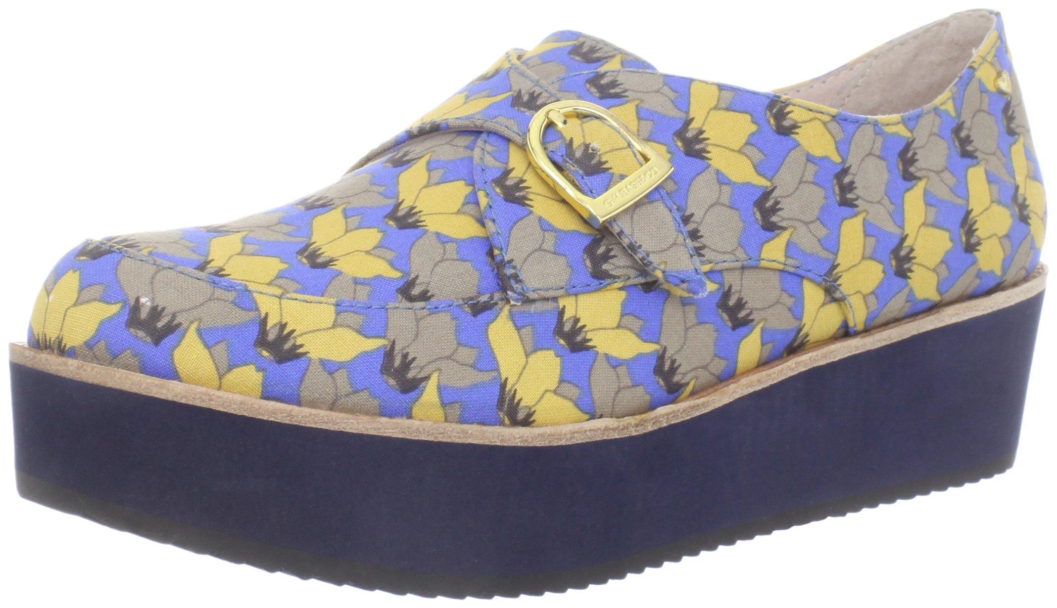 Bass Loves Rachel Antonoff Women's Fleur Loafer, Blue Floral, 6 M US by Bass Loves Rachel Antonoff (Image #1)