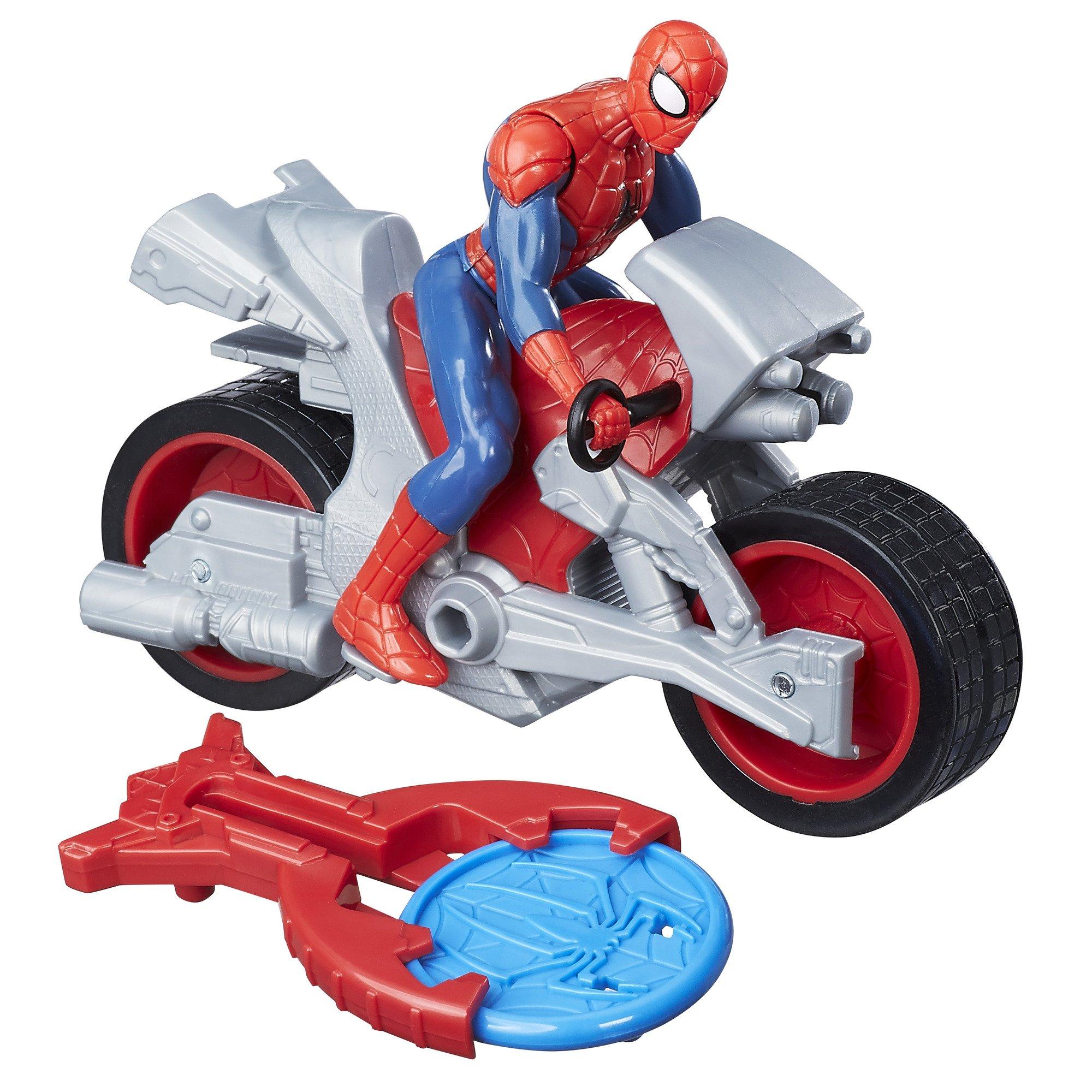 Marvel Spiderman Blast & Go Spider Man B9994