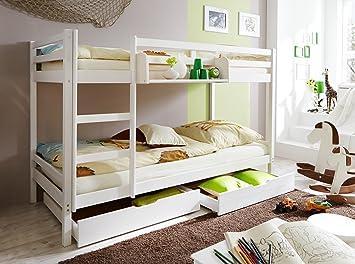 Etagenbett Schutz : Etagenbett milo kinderbett hochbett stockbett matratzen