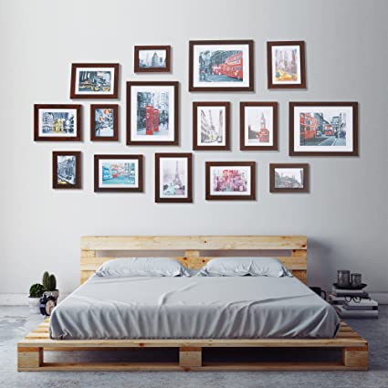 Amazon.com: Dporticus Picture Frames Collage Multi Wall Frames Set ...