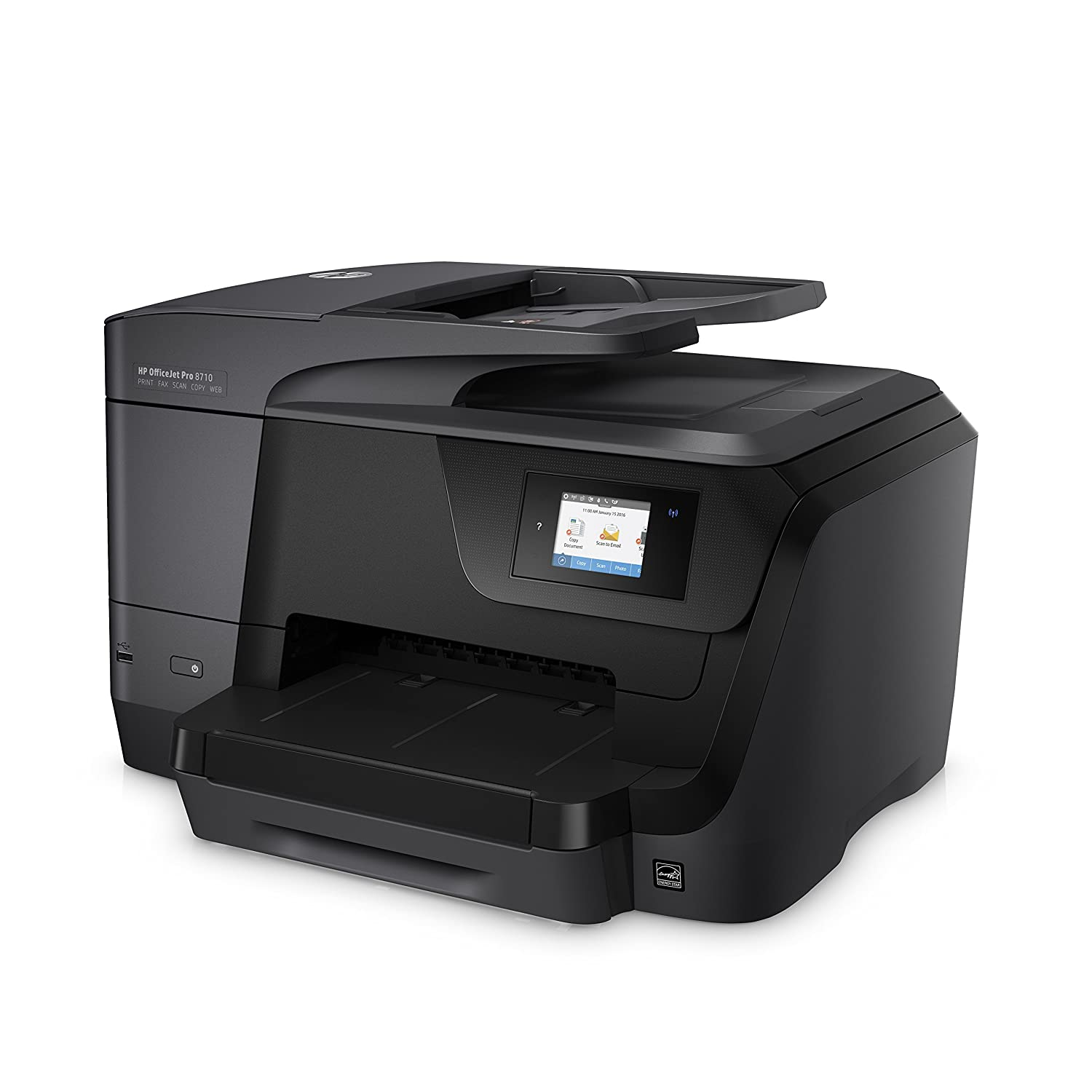 Black HP Officejet Pro 8710 All-in-One Printer Instant Ink Compatible