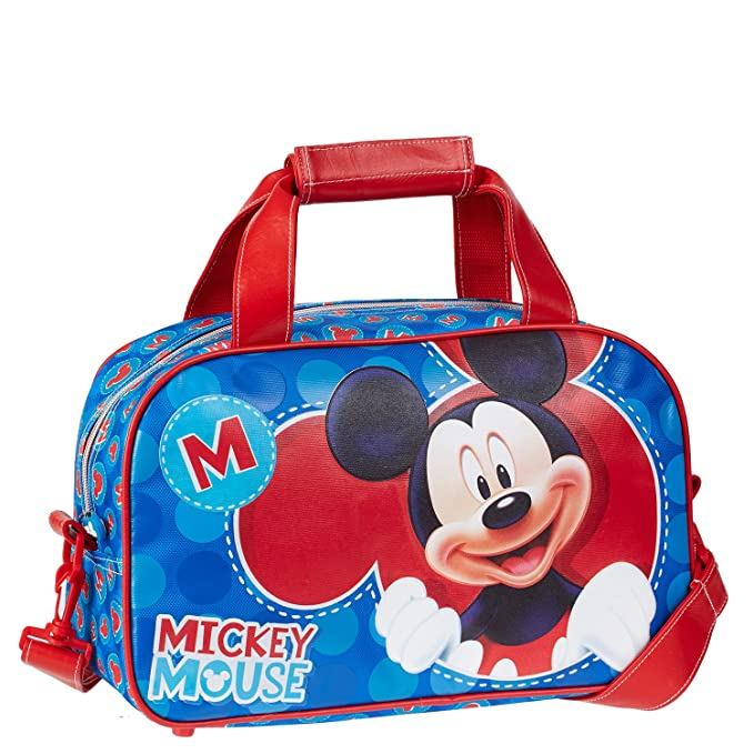 KARACTERMANIA Bolsa Deporte Mickey Disney Lets Play: Amazon ...