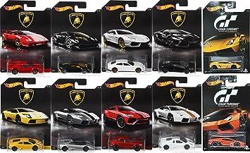 Amazon.com: Hot Wheels Exclusive Best of Lamborghini 2017 10 Car Set