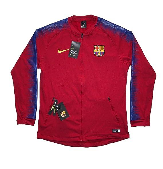 Amazon.com: Chaqueta oficial para hombre FC Barcelona Anthem ...