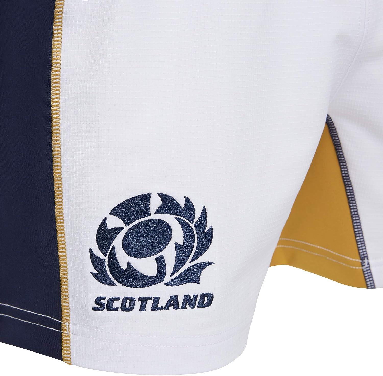 White Macron SRU M20 Game SR Senior Scotland Rugby 2020//21 Mens Short