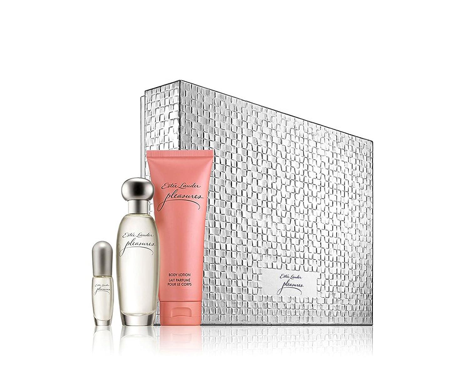 Amazon.com : Estée Lauder Pleasures To Go Set (Limited Edition ...