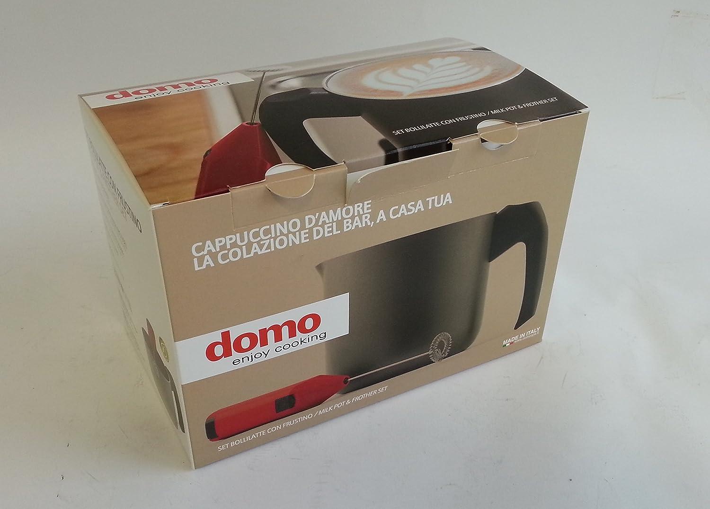 Domo Enjoy Cooking D13BL1200 Cazo para leche aluminio