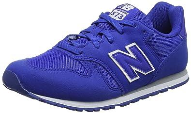 New Balance Unisex-Kinder Kv373v1y Sneaker, Blau (Blue), 35 EU