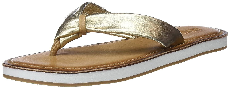 Inuovo Damen 9086 Zehentrenner  37 EU|Gold (Gold)
