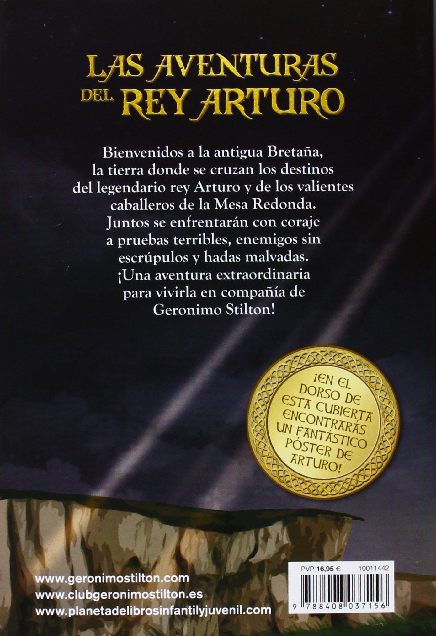 Las aventuras del Rey Arturo Grandes historias Stilton: Amazon.es ...