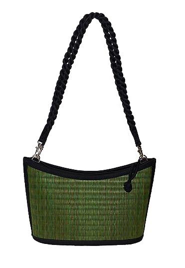 eae288813babd Für Schön Neue Stile Günstiger Preis Handtasche - Wave (Seidengrastasche)  Schwarz Natur gesprenkelt