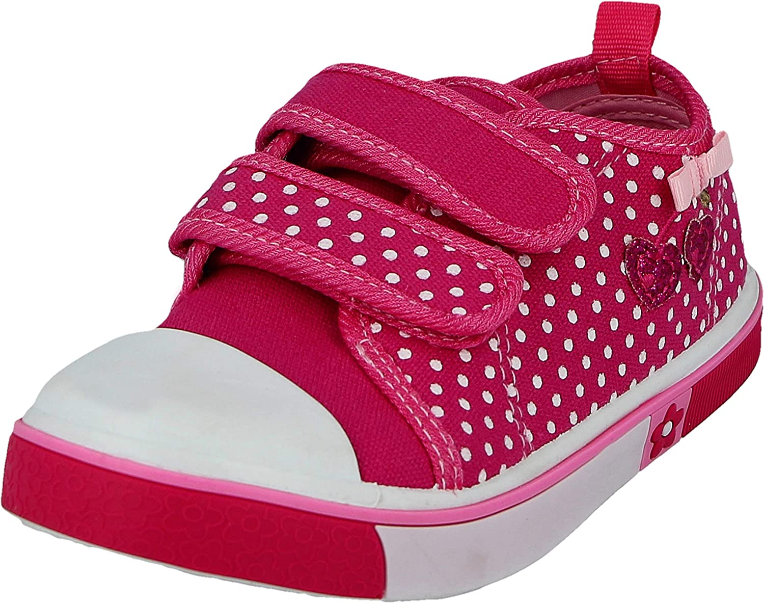 infant size 8 girls trainers