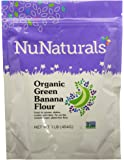 NuNaturals - Organic – Green Banana Flour - Gluten Free and Vegan - 1 Pound