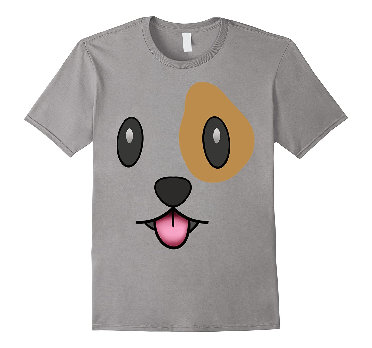 Dog Emoji Christmas Costume Dog Face Tongue Out Emoji-ANZ