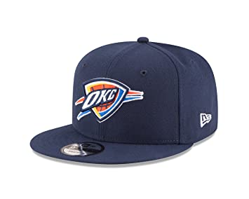 reputable site 8b4d4 ecd05 NBA Oklahoma City Thunder Adult Men NBA 9Fifty Team Color Basic Snapback  Cap, Osfa, Navy, Baseball Caps - Amazon Canada