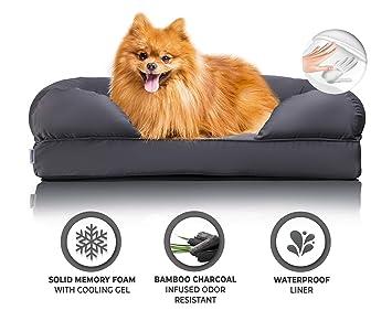 Amazon.com: Zermätte cama ortopédica para perro, almohadilla ...