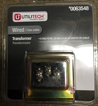 utilitech wired transformer 0063548 amazon com rh amazon com