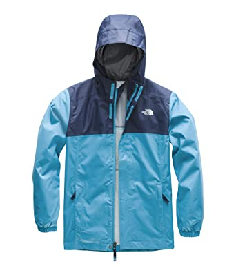 1faa79dcd5b The North Face Kids Boy s Resolve Reflective Jacket (Little Kids Big Kids)  Caribbean
