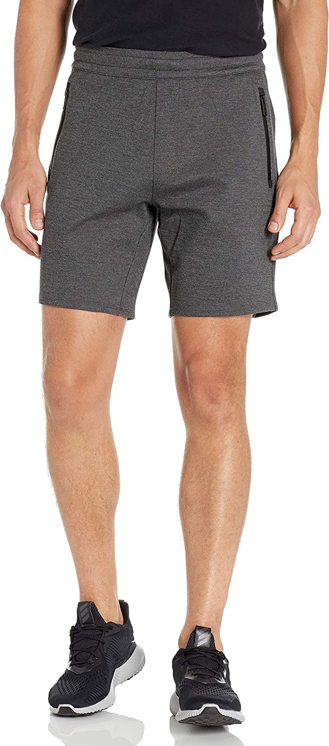 John Varvatos Star USA Men's Sinton Shorts with Seam Sealed Zipper