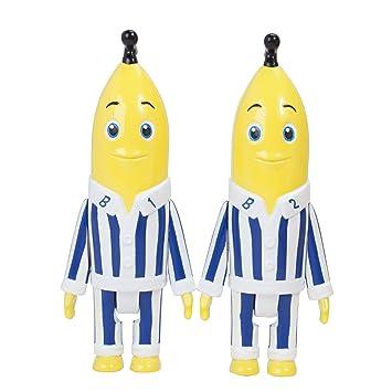 Golden Bear Bananas en Pijamas - Figuras (7,5 cm, con voz,