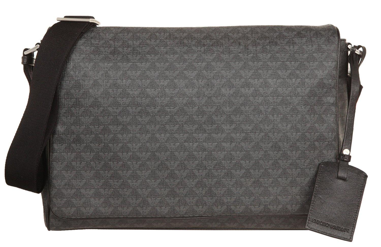 1841f652c1a4 Amazon.com   Emporio Armani Men's Messenger Bag (One Size, Lavagna ...