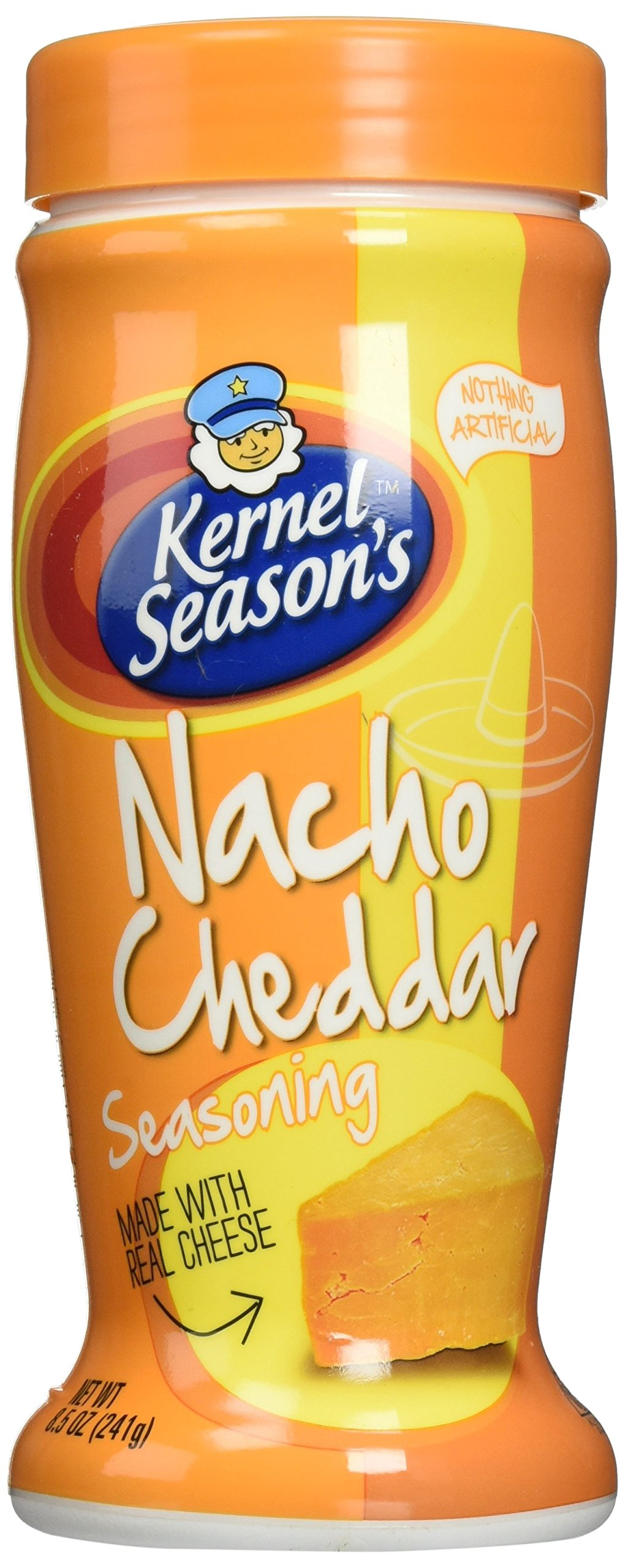 Kernel Season's Nacho Cheddar Seasoning, 8.5 Ounce Shakers (2 Pack)