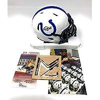 $149 » Quenton Nelson Signed Autograph Rare Lunar Eclipse Mini Helmet JSA Witnessed Certified