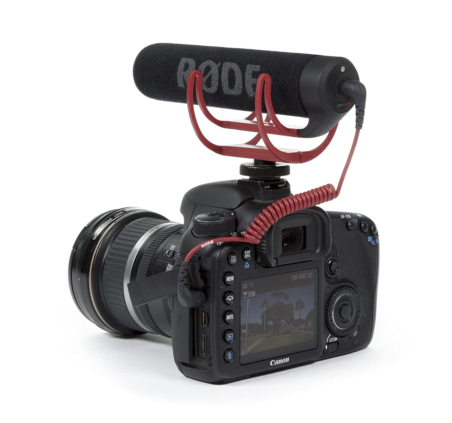 Amazon.com: Rode VMGO Video Mic GO Lightweight On-Camera ...