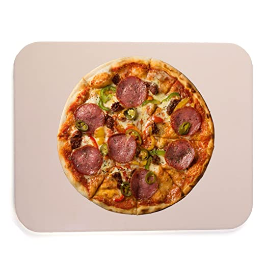 waykea rectangular (piedra de cordierita para horno Pizza piedra ...