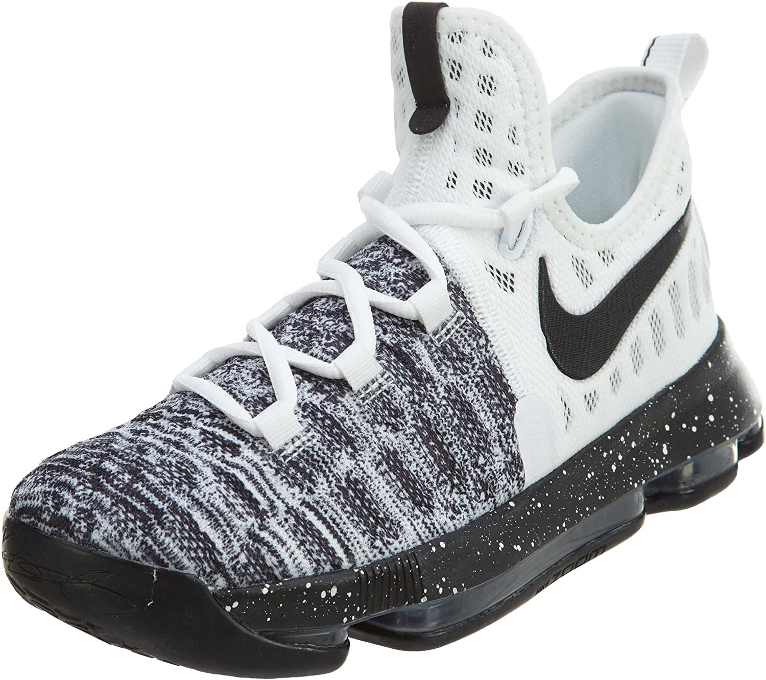 preocupación extinción debajo  Nike Zoom KD 9 (GS) White/Black (Oreo) (6.5Y): Amazon.ca: Shoes & Handbags