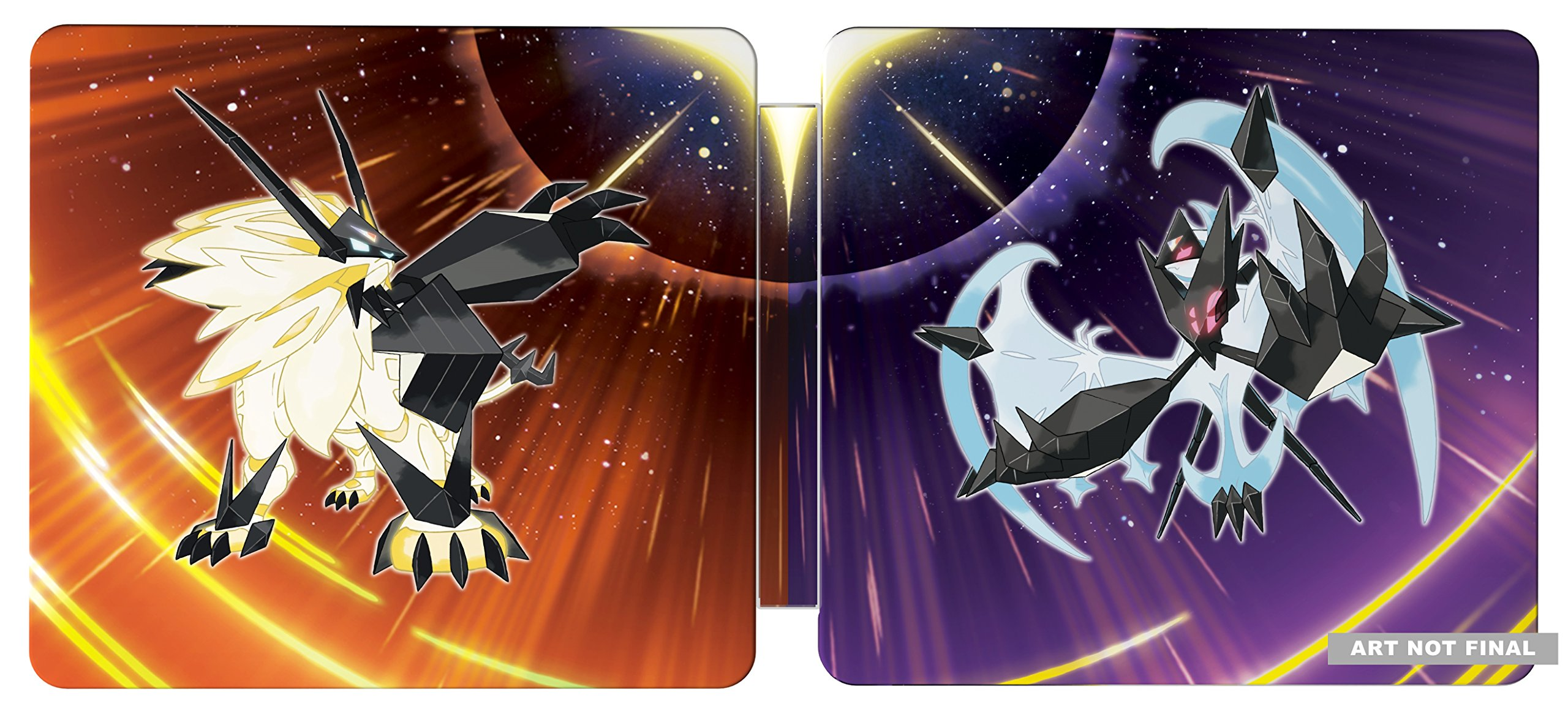 Pokémon Ultra Sun and Ultra Moon Steelbook Dual Pack - Nintendo 3DS