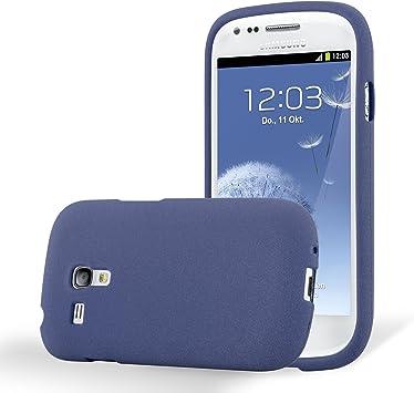 Cadorabo Funda para Samsung Galaxy S3 Mini en Frost Azul Oscuro: Amazon.es: Electrónica
