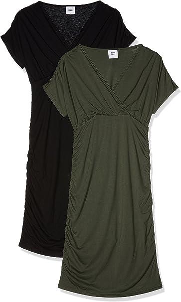 Mamalicious Womens Mlpilar S//S Jersey Abk Dress V