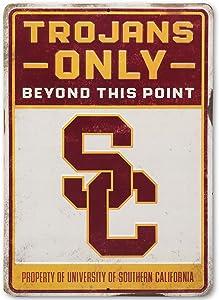"""Open Road Brands NCAA Collegiate University 10""""x14"""" Metal Signs"""
