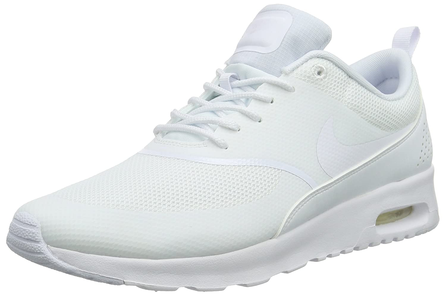 half off 89aca 773b1 Nike Air Max Thea, Women Low-Top Sneakers, White (White White), 8.5 UK (43  EU)  Amazon.co.uk  Shoes   Bags