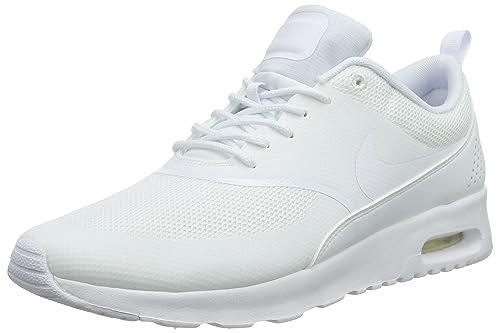 Nike Air Max Thea Da Donna UK 4 EU 37.5 Platino Scarpe Da Corsa Scarpe da ginnastica 599409 022