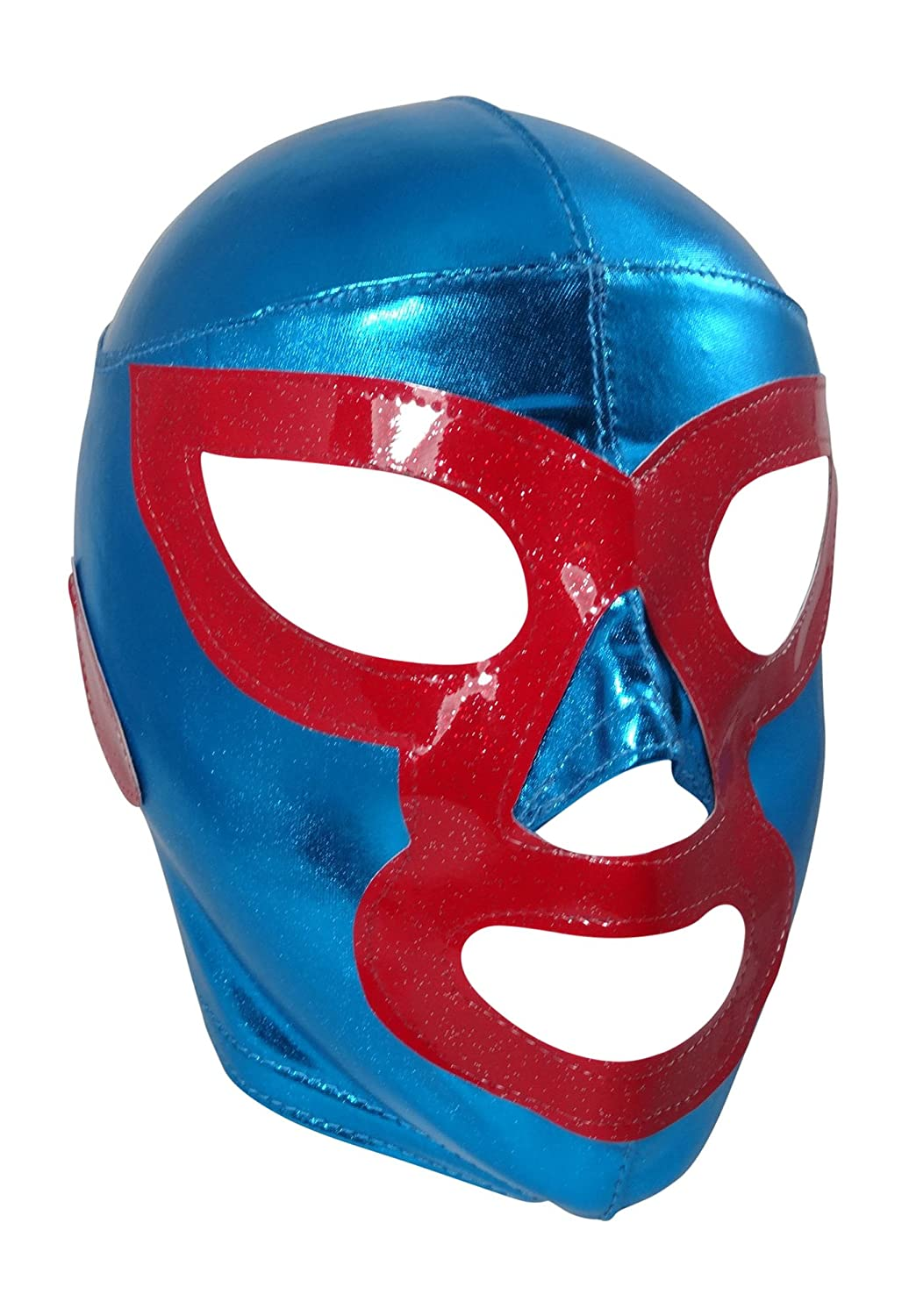 NACHO LIBRE LYCRA Youth Lucha Libre Wrestling Mask - KIDS Costume Wear Mask Maniac