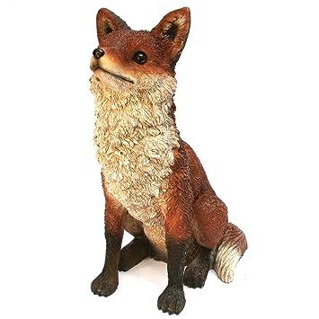 Amazoncom Michael Carr Designs 508007B Fox Outdoor Statue