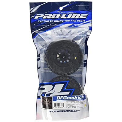 PROLINE 1012313 BF Goodrich Baja T/A Kr2 M2 SC 2.2/3.0 Tires On Black Renegade Wheels for Slash/Slash 4X4: Toys & Games