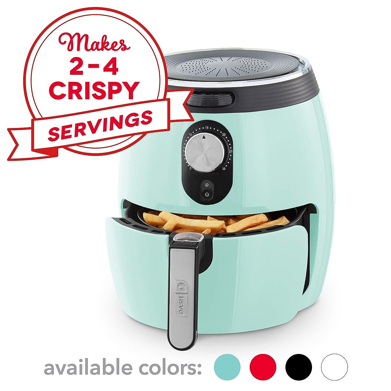 Amazon.com: Freidora de aire DASH, Agua (Aqua): Kitchen & Dining