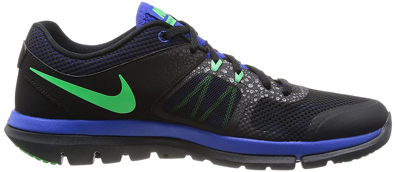 e019db1232627 Nike Flex 2014 Run MSL Men Laufschuhe black-poison green-lyon blue- anthracite - 41  Amazon.co.uk  Shoes   Bags