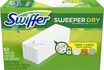 52-Count Swiffer Sweeper Dry Sweeping Pad Refills