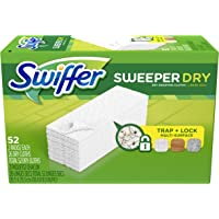 Deals on 52-Count Swiffer Sweeper Dry Mop Refills For Floor Mopping
