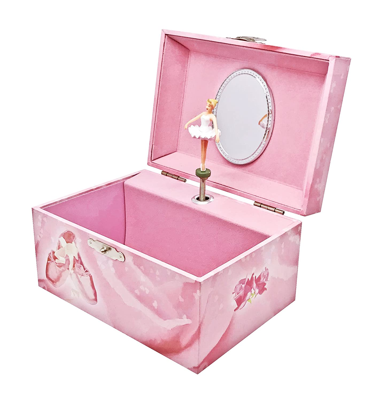 Pink Trousselier Music Box Ballerina