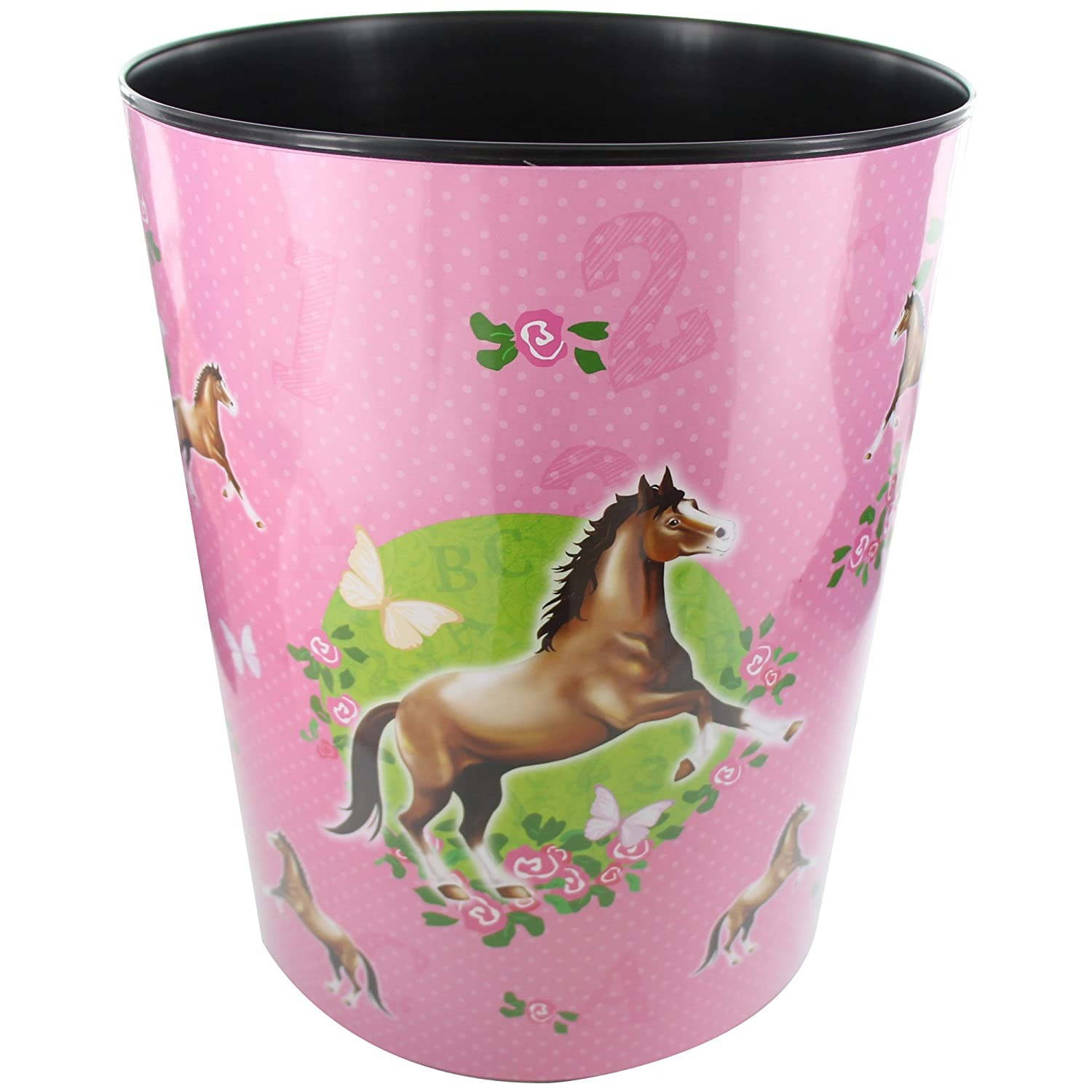 Goldbuch 82 001 Waste Paper Bin with Horse Design 82 001