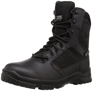 Danner Mens Black Boots Lookout 8 Inch