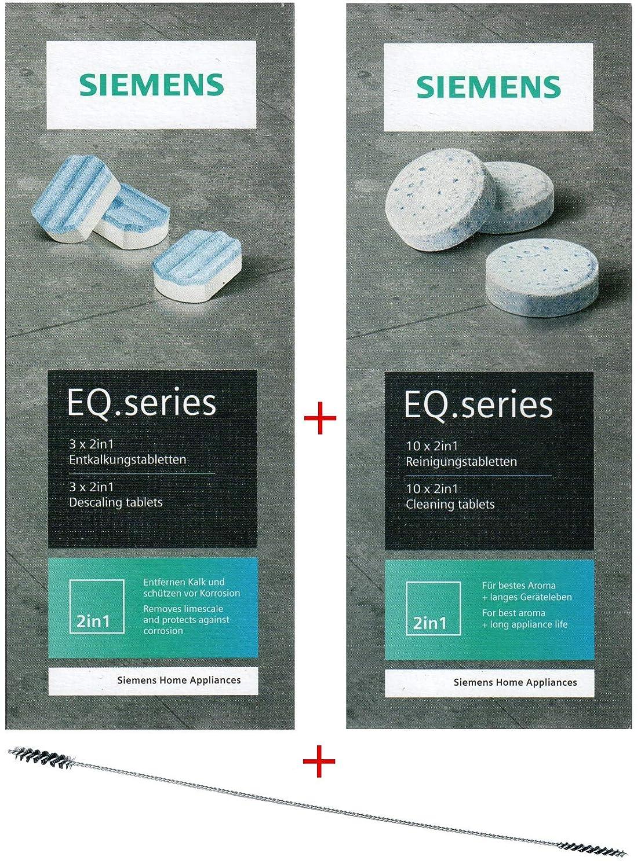 Siemens tz80001 10 pastillas de limpieza + 3 pastillas ...