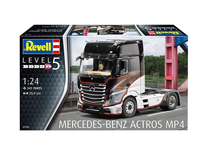 Masywnie Amazon.com: Revell 07439 Mercedes-Benz Actros MP4, Multi Colour FR76