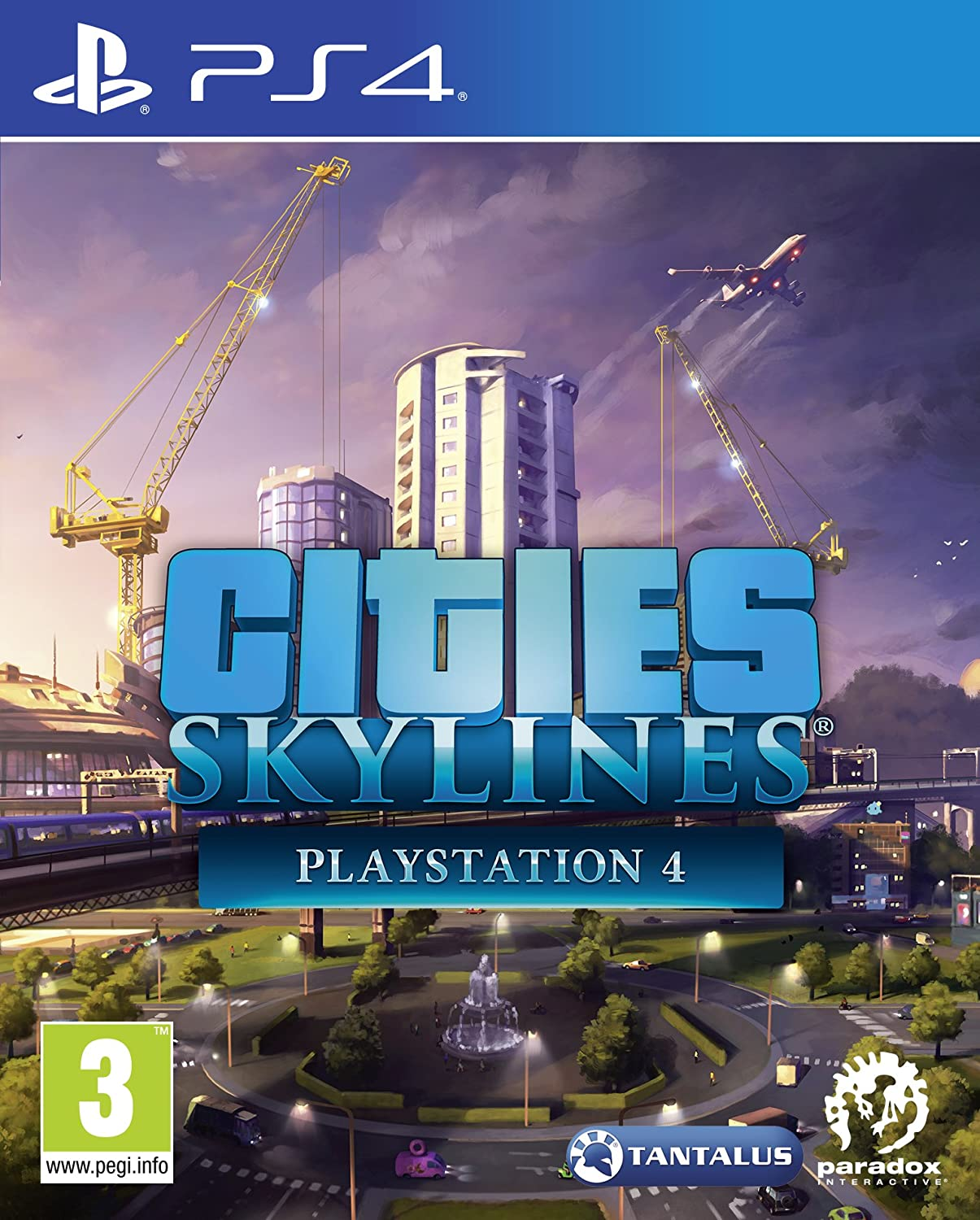 Cities Skylines Ps4 Amazon Co Uk Pc Video Games