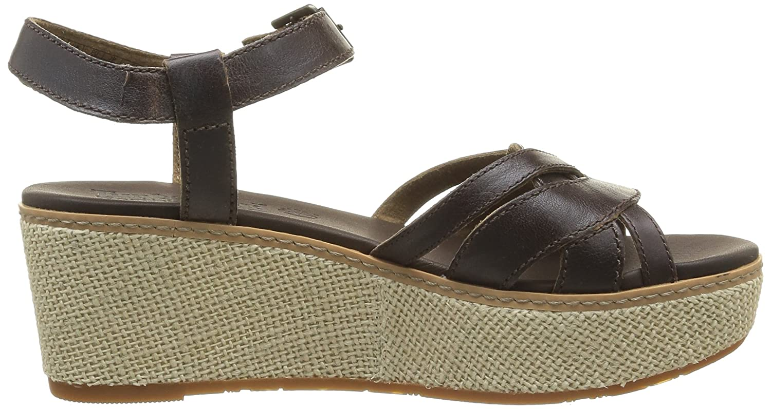 Timberland Earthkeepers Ridgevale Jute Wedge Ankle Strap